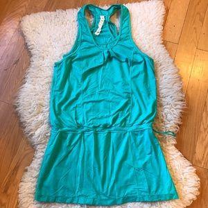 LULULEMON teal tank/dress
